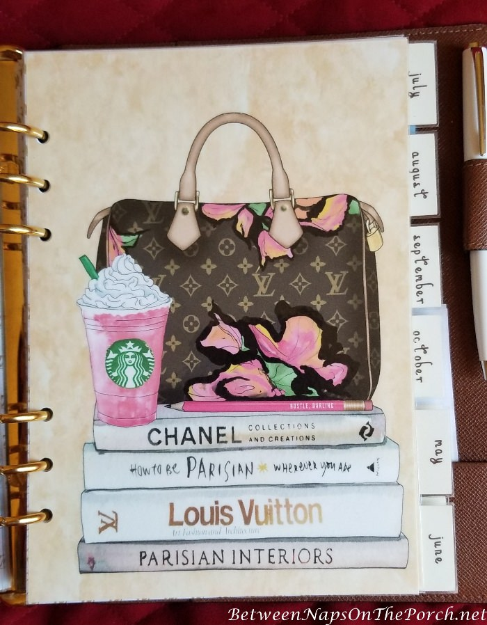 Agenda Dividers for Louis Vuitton Agenda