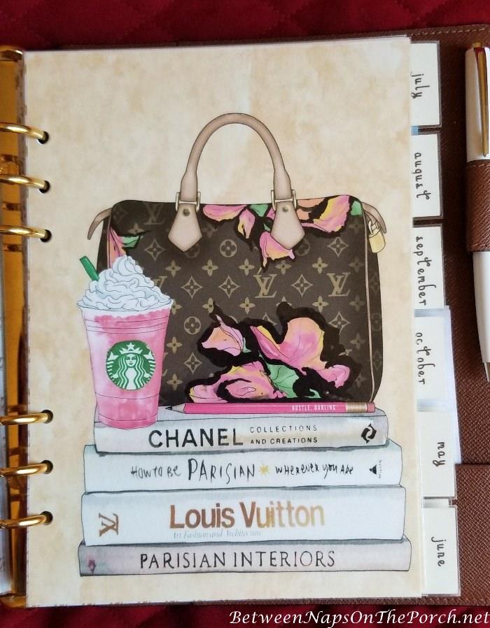 Agenda Dividers for Louis Vuitton Agenda