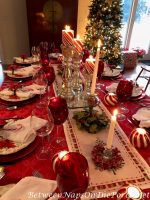 A Candy Cane Table Setting for Christmas and the Winter Holidays