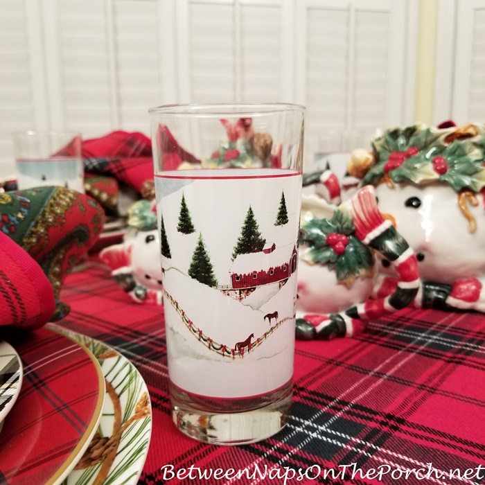 Christmas Valley Glasses, David Carter Brown