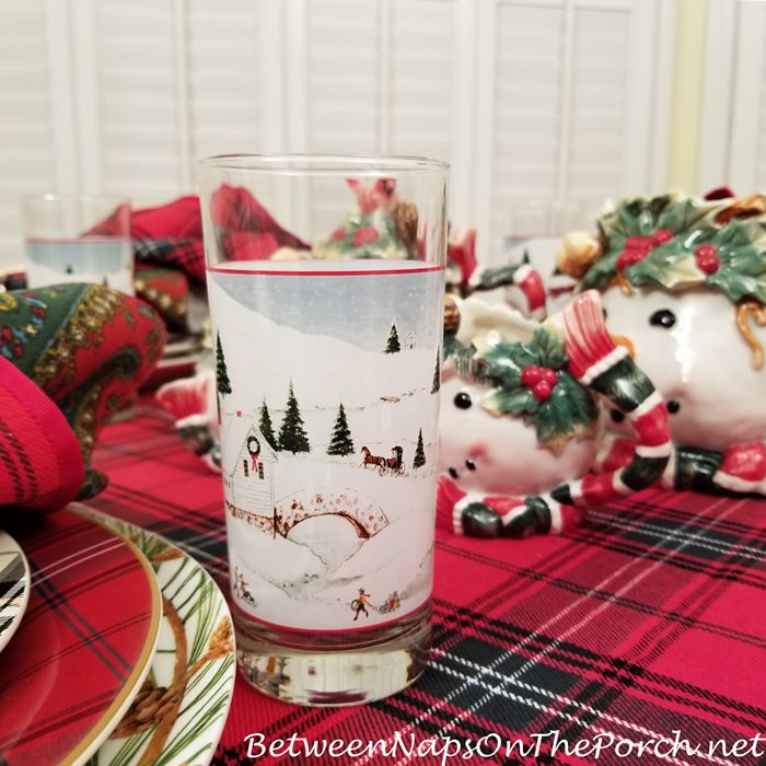 David Carter Brown Glassware, Christmas Valley