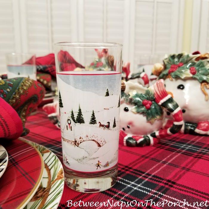 David Carter Brown Glassware, Christmas Valley
