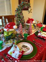"A Whimsical ""How the Grinch Stole Christmas"" Table Setting"