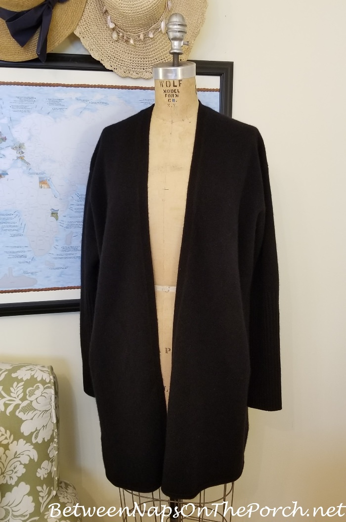 Long Cashmere Sweater, Luxurious, Soft
