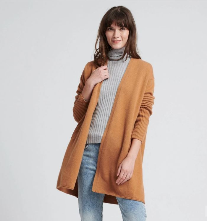 Long Cashmere Sweater on sale