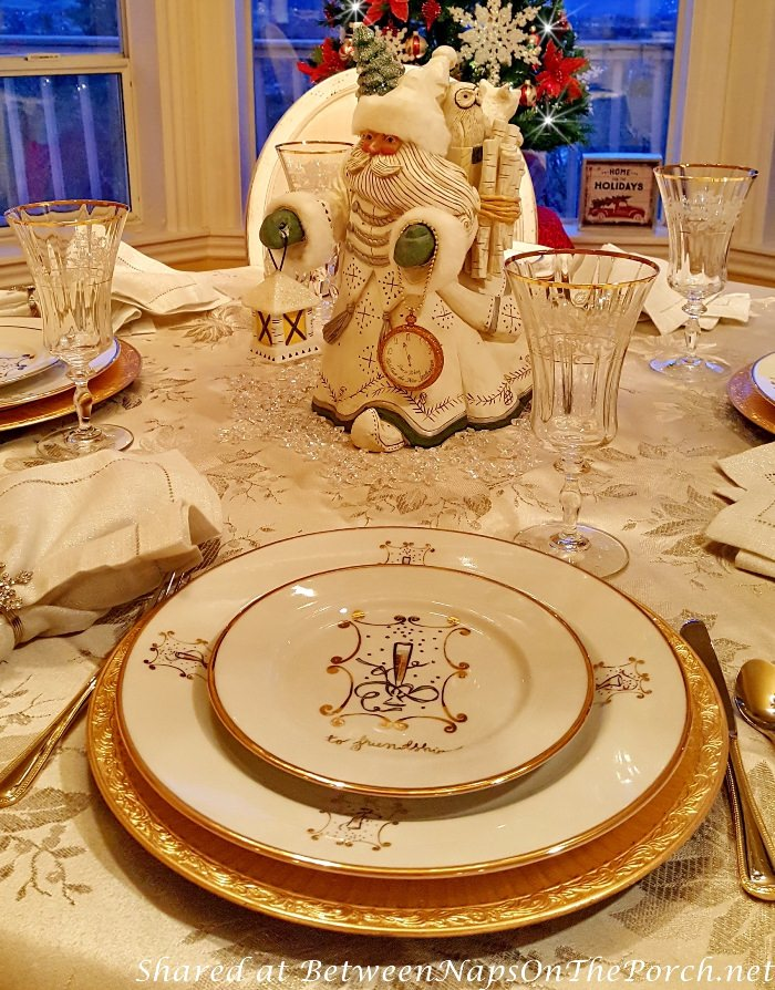 New Year's Dinnerware, Party Ideas