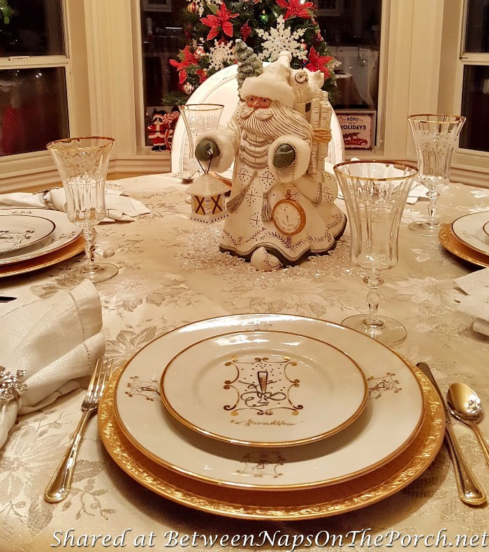 New Year's Eve Celebration Table Setting