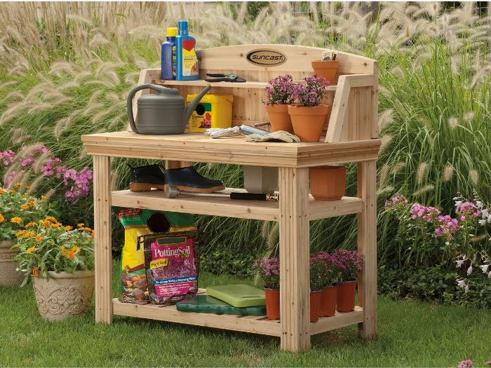 Potting Bench, Easy to Assemble