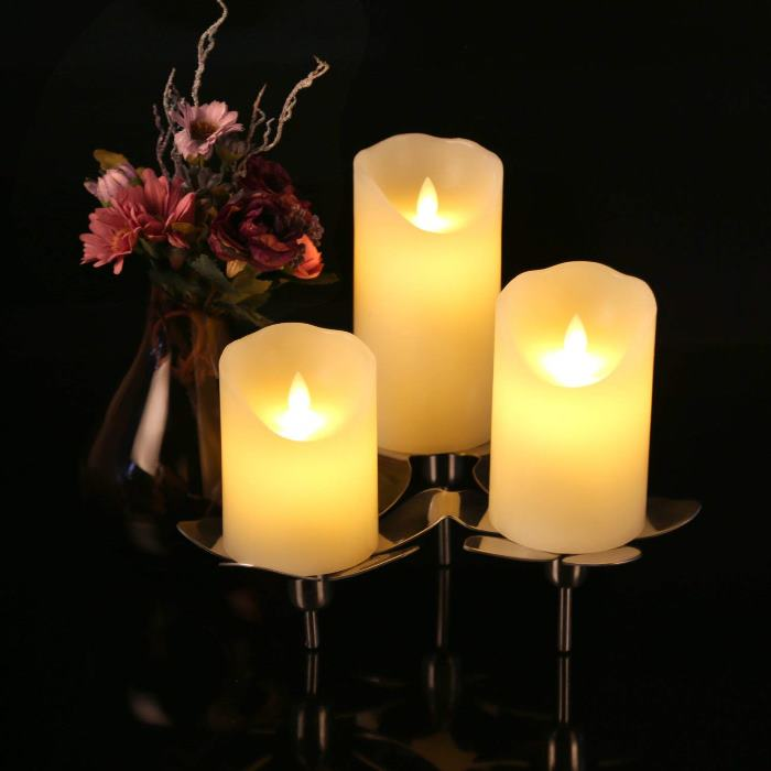 Realistic Looking Faux Candles
