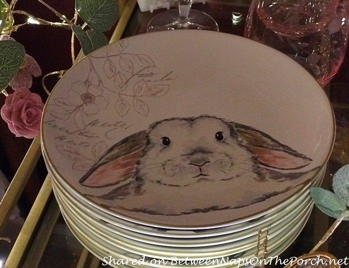 Bunny Salad Plates
