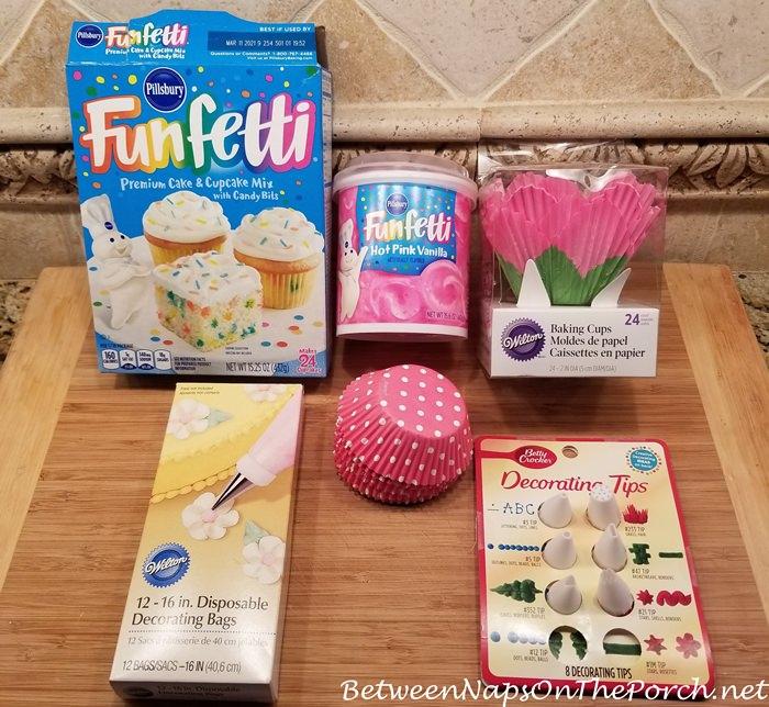 Cupcake Making Supplies