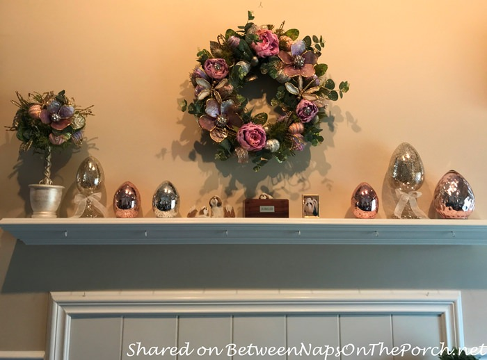 Easter Decorations for Mantel