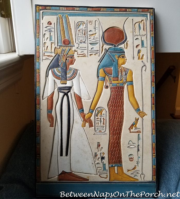 Egyptian Hand Carved Tablet