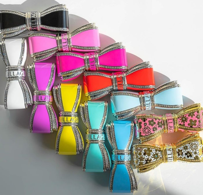 House of Sillage Lipstick Cases in a Rainbow of Colors