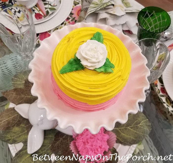 Pink & Yellow Cake