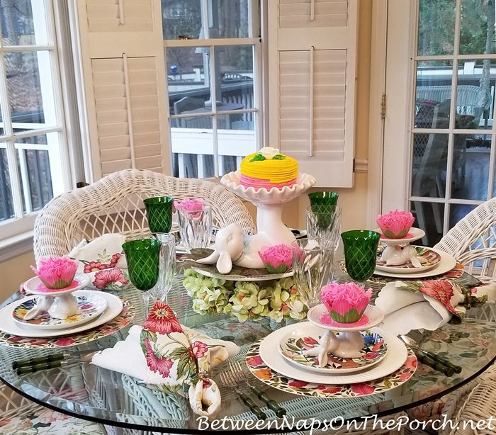 Spring Table Ideas, Easter or Spring Table