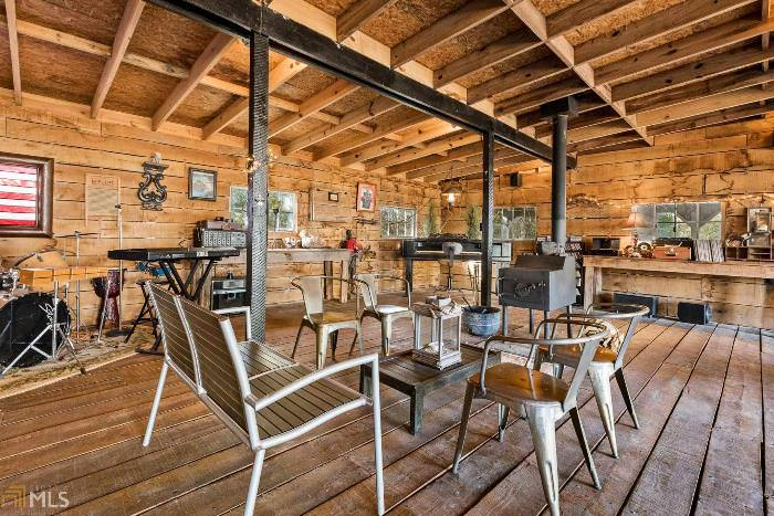 Create a Party Barn for Entertaining