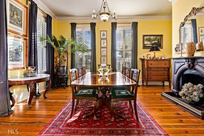 Dining Room in Southern Historic Home