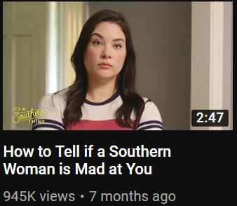 It's a Southern Thing, How to Tell If a Southern Woman is Mad at You