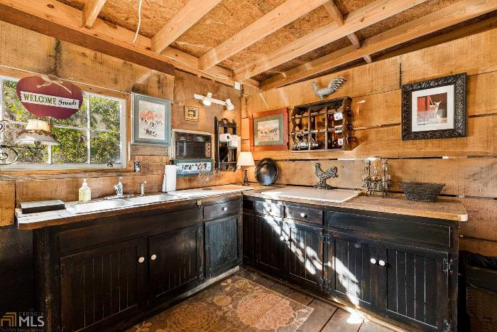 Kitchen in Party Barn