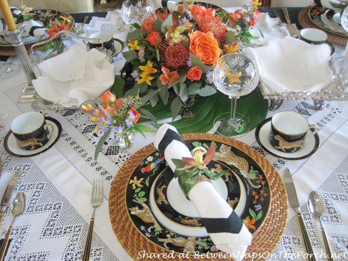 Lace Tablecloth for Tea party