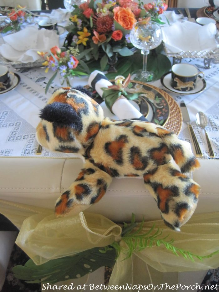 Plush Jaguar, Party Gifts, Sweet 16 Tea Party