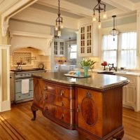 Repurposing furniture as a Kitchen Isalnd or Bathroom Vanity