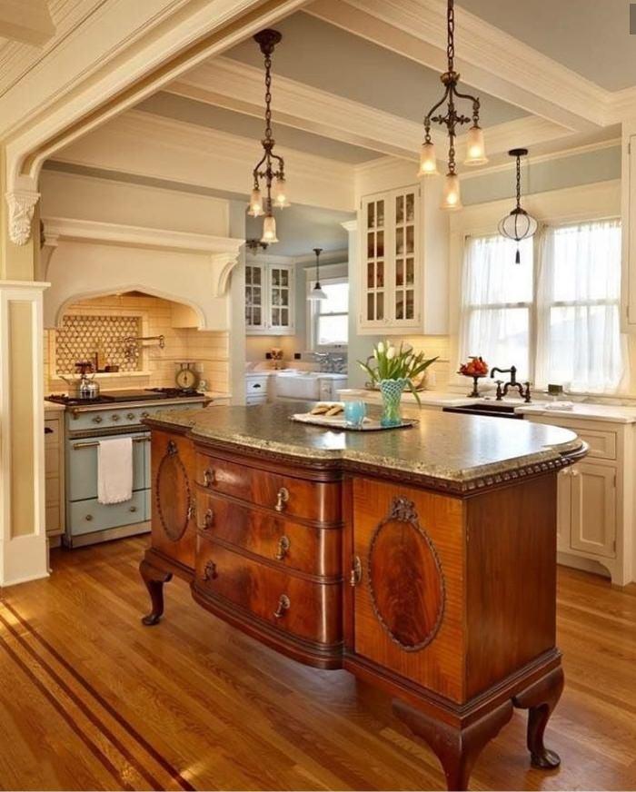 Chest Or Dresser Into A Kitchen Island