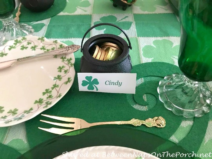 Shamrock Plates, St. Patrick's Day Decorating