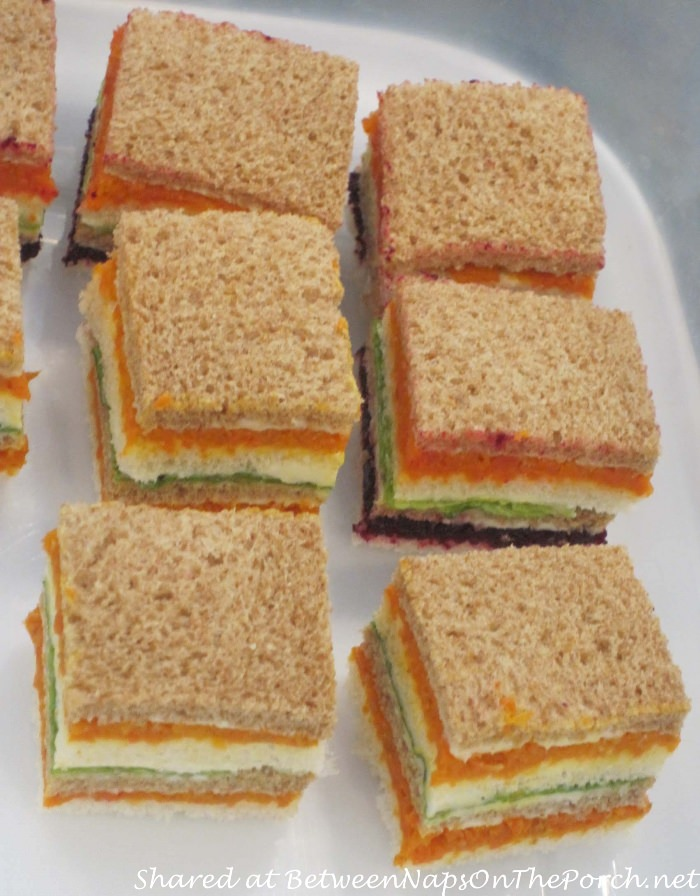 Tea Sandwiches, Sweet 16 Tea Party