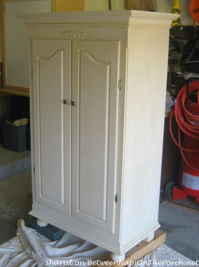 Armoire Wardrobe Before and After
