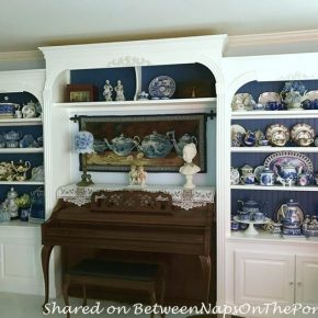 DIY Add Beautiful Cabinetry to Living Room for Display Storage
