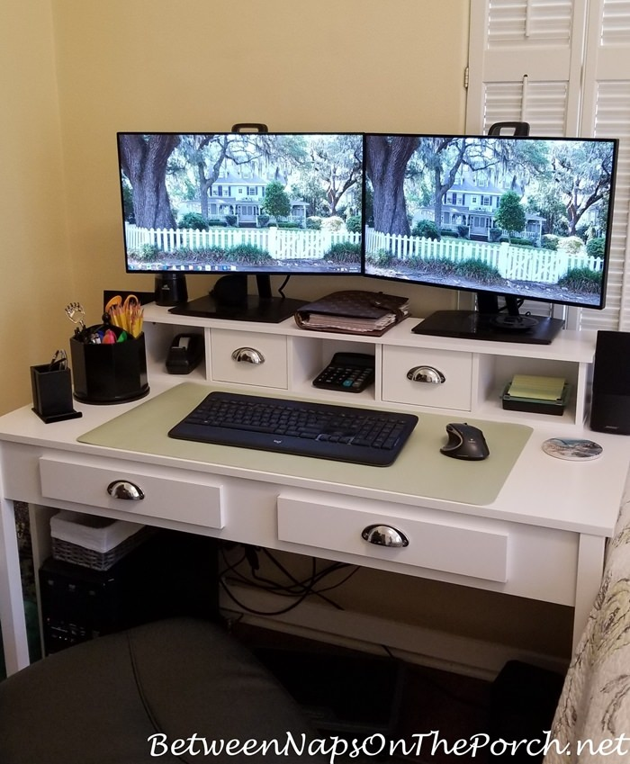Desk for working at home