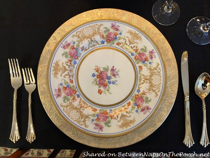 Fine Concorde China, Floral Pink and Gold
