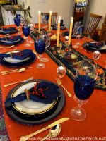 A Winterberry Candlelight Table Setting