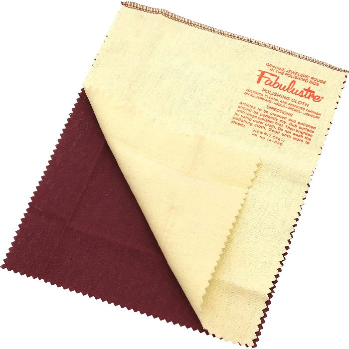 Rouge Polishing Cloth for Jewelry