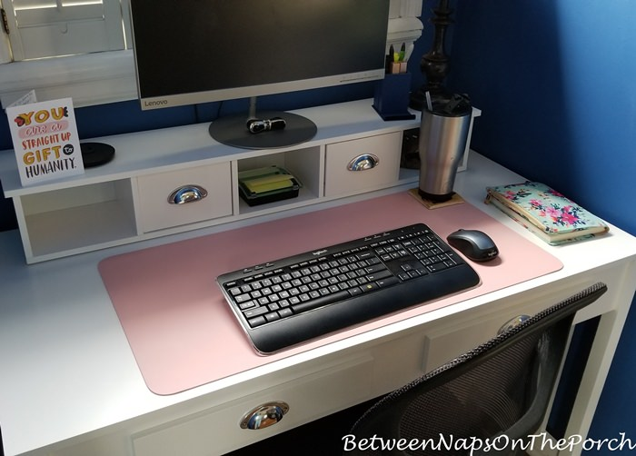 White Desk for Working at Home