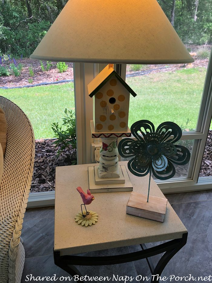 Birdhouse Lamp for Porch
