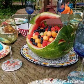 Carve a Watermelon Centerpiece