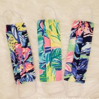 Face Masks, Lilly Pulitzer Style Fabric