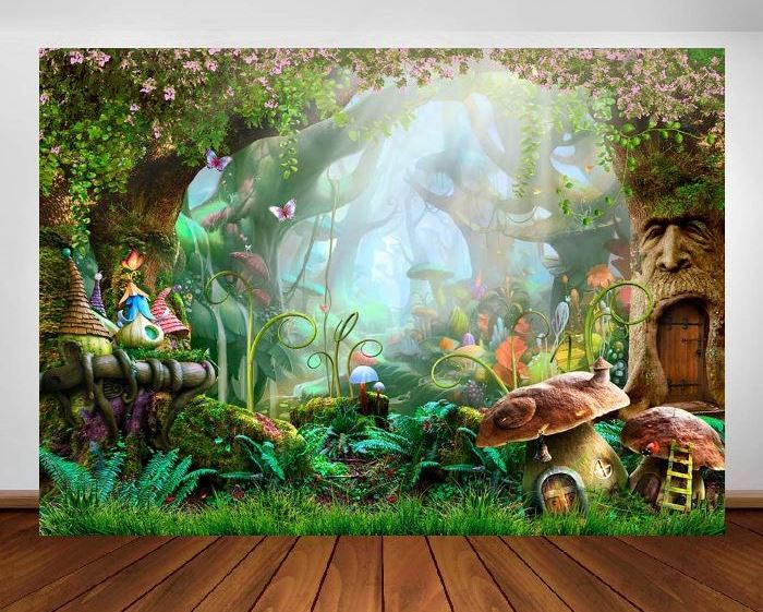 Fantasy Forest Backdrop