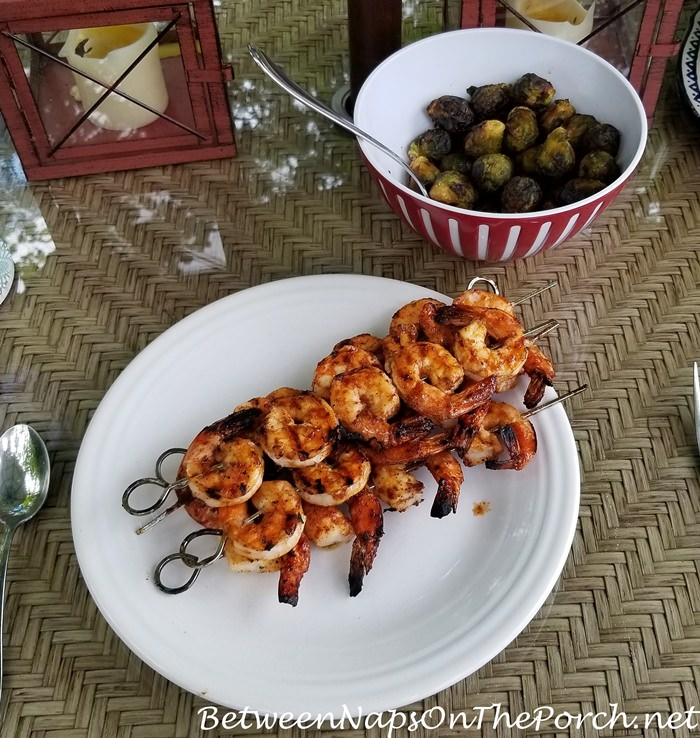 Shrimp Cooked on the Grill