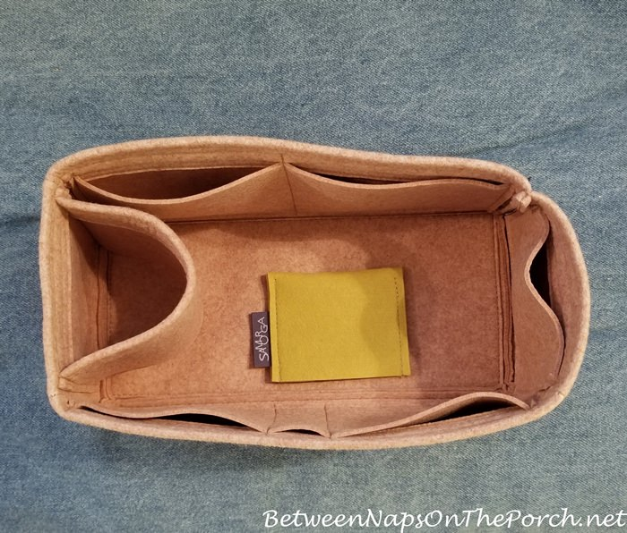 Bad Samorga Bag Insert for Hermes Birkin 30 Bag, Boxy and Misshapen