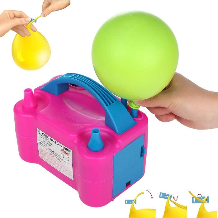 Balloon Inflator for Parties, Easy Way to Blow Up Balloons