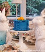 A Bunny-Themed Table Setting for Spring