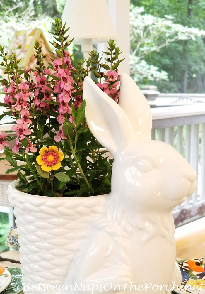 Bunny Planter for Spring