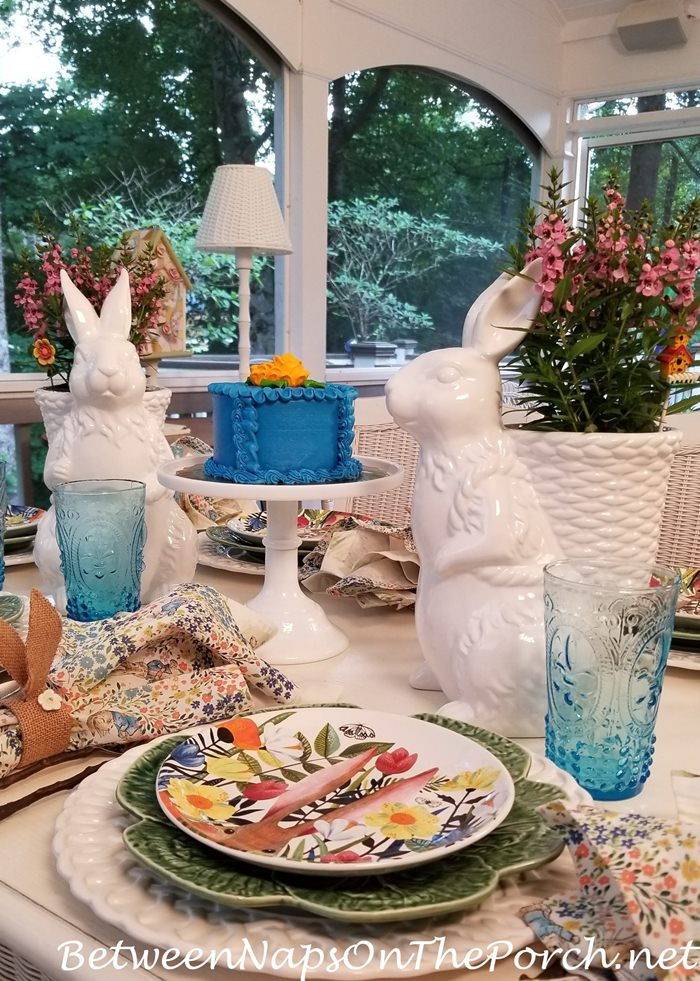 Bunny Planters for Spring Table