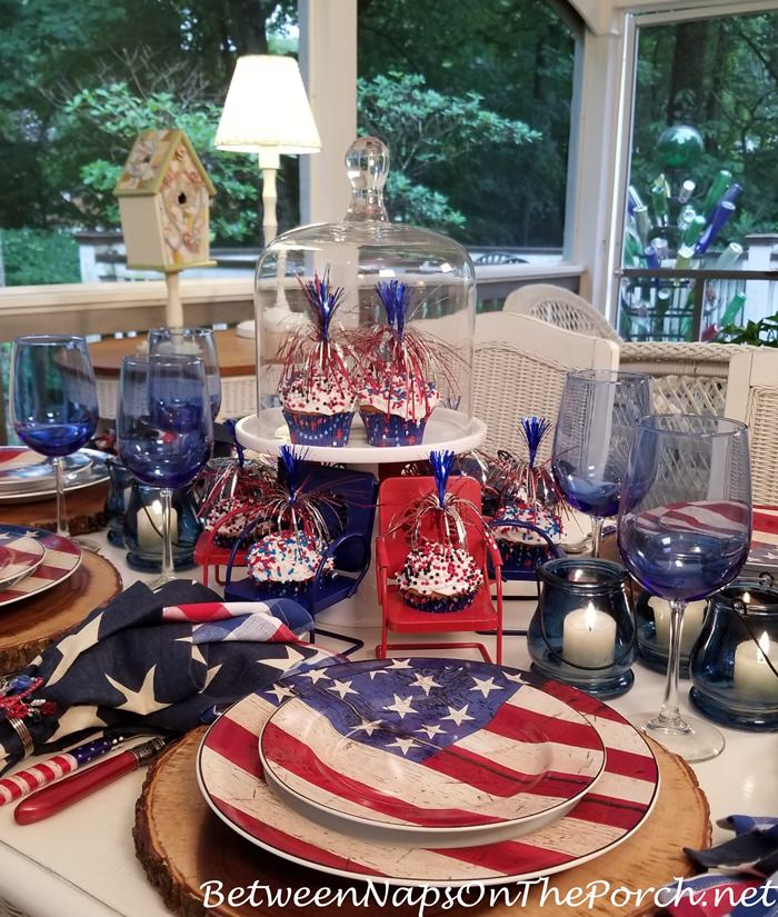 Celebrate 4th of July on the Porch