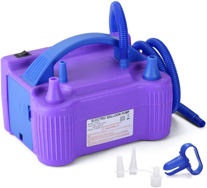 Electric Balloon Inflator for Parties