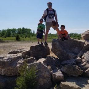 Fossil Hunting with Dad